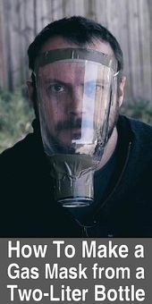 How To Make a Gas Mask From a Two-Liter Bottle   Urban Survival Site