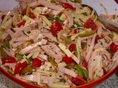 salade de saucisses   – essen
