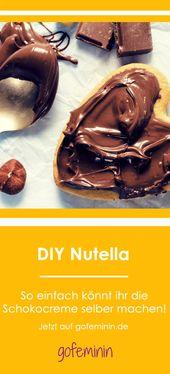 Besser als das Original! So einfach könnt ihr Nutella selber machen