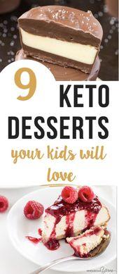 9 Recetas fáciles de postres Keto: sin azúcar, bajas en carbohidratos (y algunas opciones veganas y paleo ...