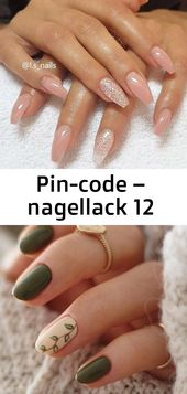 Pin-code – nagellack 12