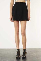 Jupe patineuse noire avec poches – Jupes patineuse – #avec jupe #Jupes #black …   – Jupes