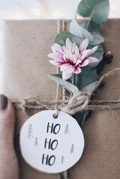 DIY Geschenke verpacken – Freebies 11 tolle Geschenke Anhänger
