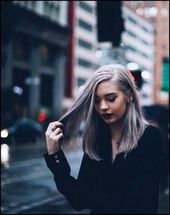 19+ Silber Haarfarbe Ideen zu Grau in dieser Saison – Madame … – Frisuren Damen –