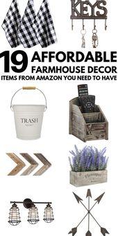 Greatest Inexpensive Farmhouse Decor Amazon Has To Provide