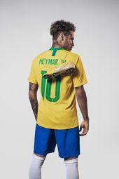 Yellow Nike Mercurial Vapor Neymar 2018