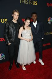 Logan Shroyer Hannah Zeile And Niles Fitch Attend The Season 3 This Is Us Serie Great Tv Shows This Is Us