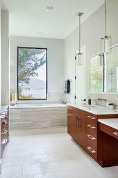 تصاميم حمامات بسيطة حمامات عصرية تصاميم حمامات مودرن حمامات صغيرة حمامات داخل غرف النوم ديكورات أرابيا Master Bathroom Design Bathroom Design House