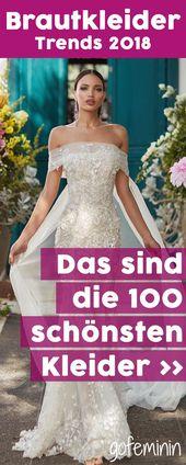 Bröllopsklänningar 2018: det här är de 100 vackraste klänningarna! – http://toptrendspint-fly.blackjumpsuitoutfit.tk
