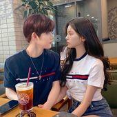 Yeonjun and Yeji ( Yeonji ) TXTZY fandom name is Catherizm