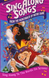 Disney Sing Along Songs The Hunchback Of Notre Dame Uk Sing Along Songs Songs Jewish Books