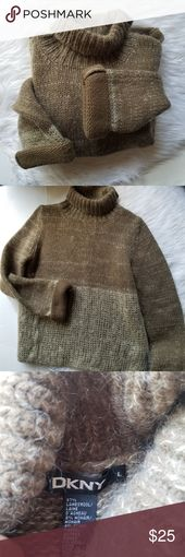 DKNY lambswool neutrals sweater DKNY lambswool neu…