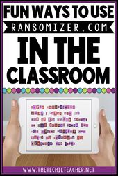 Fun Ways to Use Ransomizer.com in the Classroom