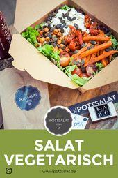 Salat frisch bestellen Salat Salat, Salatrezepte, Salat einfach, Salat id …   – Salat vegetarisch