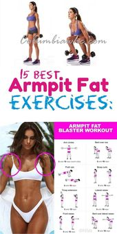 How To Get Rid Of Armpit Fat: 15 Best Underarm fat Blaster Exercises that really…