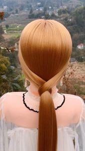Elegant hairstyle - #selegante #frisur - #new