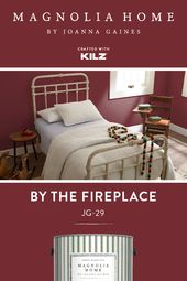 This rich red hue from the Magnolia Home by Joanna…