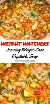 Erstaunliche Gewichtsverlust Gemüsesuppe   – Weight Watchers Soups