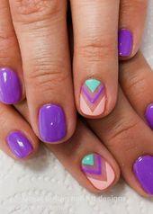 20 Große Spring Nail Designs 2019 #flowernaildesigns   – flower nail designs