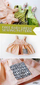modèle de robe bébé facile pour l'été  – see kate sew projects