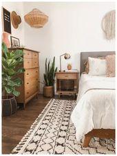 73 Creative Boho Bedroom Decor Ideas You Can DIY ⋆ newport-internati…   – New appartement