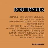 Boundaries Quotes, Setting boundaries is vital for abuse victims
