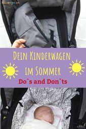 Donc, vous préparez votre poussette pour l'été   – Naturkind Kinderwagen Lux