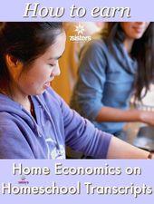 Methods to Earn Residence Economics on Homeschool Transcripts