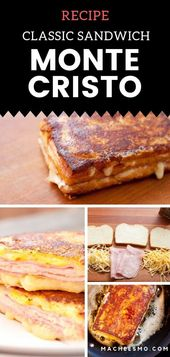Klassisches Monte Cristo Sandwich – #Cristo #Klassisches #Monte #SANDWICH