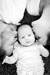 Baby Fotoshooting-Ideen für zu Hause