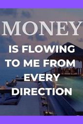 Manifesting Money Affirmations