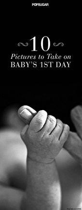 10 Bilder, die Sie unbedingt für den ersten Tag Ihres Babys brauchen – Prep …  – Baby