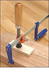 Edge Clamp Fixture – Woodworking