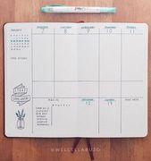 Suchen Sie nach Ideen für ein Bullet-Journal, um sich in Ihrer wöchentlichen Planung inspirieren zu lassen? H