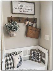 Einzigartige und Kreative kreative DIY-Projekte, Möbelstück, Wohnzimmer, Tisch, Roter Faden, …