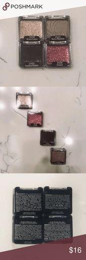 WET N WILD NWT EYESHADOWS (Set of 4) Set of 4 model new eyeshadows from Moist N…