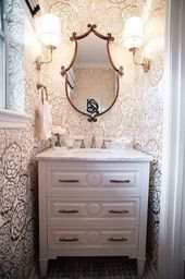 20+ Awesome Small Powder Room Ideas
