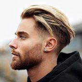 Coleção de cortes de cabelo masculinos   – Herren Frisuren 2019