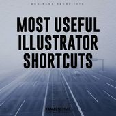 Illustrator Shortcuts  8 Best Illustrator Shortcuts !