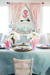 Princess Pink Cinderella Birthday Party