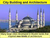 WORLD UNIT 3 LESSON 5. Islamic Achievements POWERPOINT