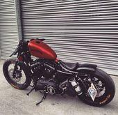 Besuchen Sie täglich für Custom Motorräder & Bekleidung Bobber Inspiration Mo…