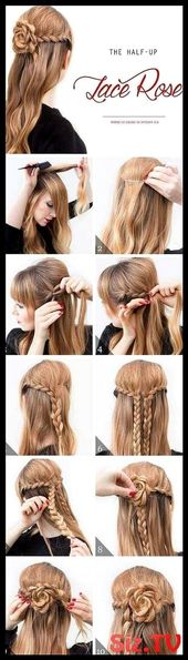 #Buns #DIY #Easy #Frisuren #Ideen #Messy