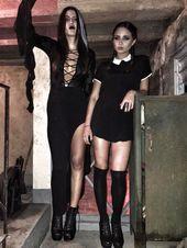 Scary Halloween Costume Ideas for Girls – Wednesday Adams