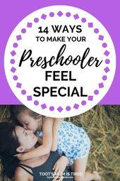 14 Möglichkeiten, um Ihren Vorschulkindern das Gefühl zu geben, etwas Besonderes zu sein – Preschool – Activities, crafts, books, and fun for preschoolers