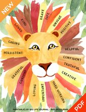 The Confidence of a Lion Poster (PDF)