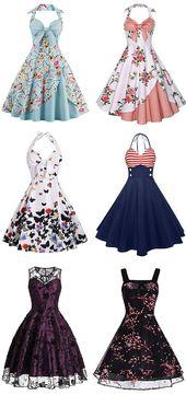Sommer-Outfits, Maxikleider, Cocktailkleider, Ballkleider, Abendkleider, Partykleider