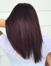 13 nuances de couleur de cheveux Bourgogne pour les tons de peau indiennes
