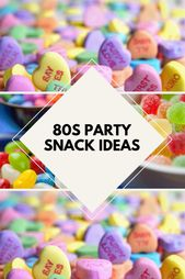 Best 80's Party Snacks