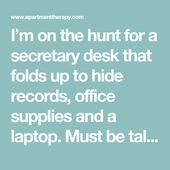 10 Modern Secretary Desks for Small Spaces